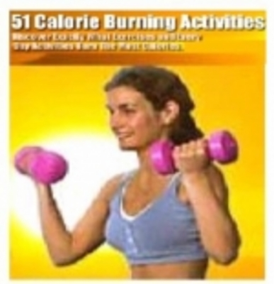 Product picture 51 Calorie Burning Activities (resale rights)