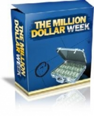 Product picture The Million Dollar Week (Resale Rights)