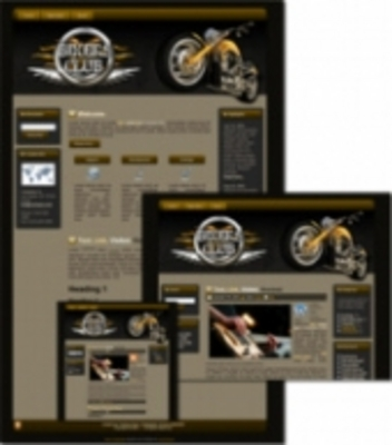 Product picture Bikers Club - WP Theme (Master Resale Rights)
