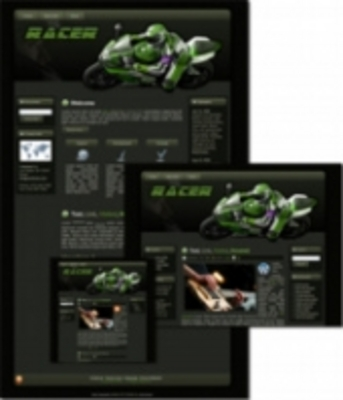 Product picture Racer - WP Theme (Master Resell Rights)